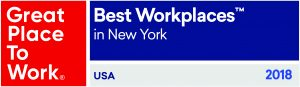Hillmann Named Best Place to Work in New York 2018